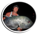 GT fishing Rarotonga Cook Islands